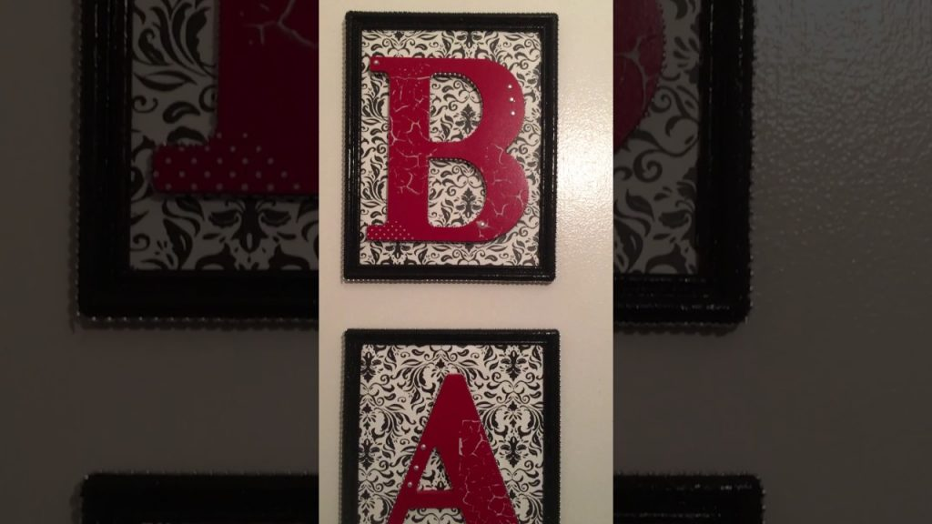 Diy Dollar Tree Bathroom Wall Art Youtube