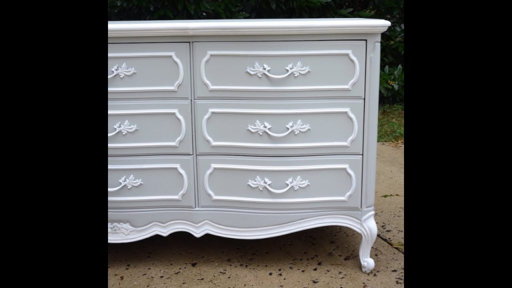 Diy Dresser Makeover French Provincial Dresser Makeover Thrift