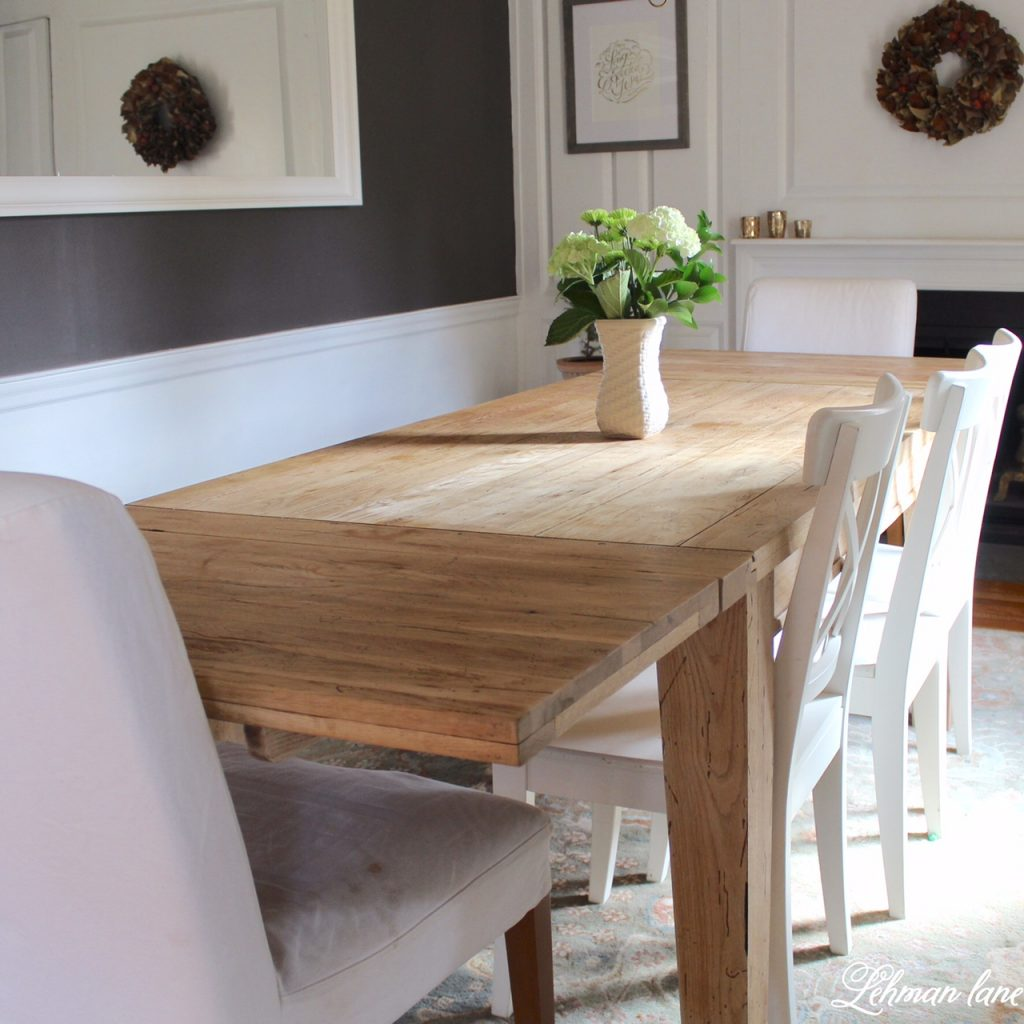 Diy Farmhouse Tablerestoration Hardware Inspired Farmhouse Table