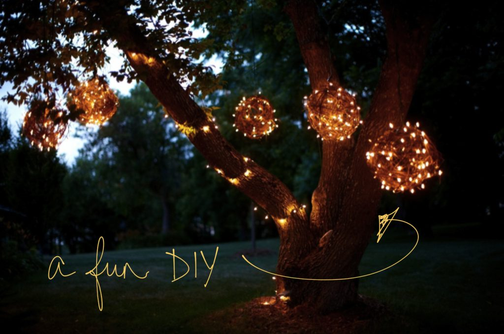 Diy Grapevine Lighting Balls What A Bright Idea Diy Projects