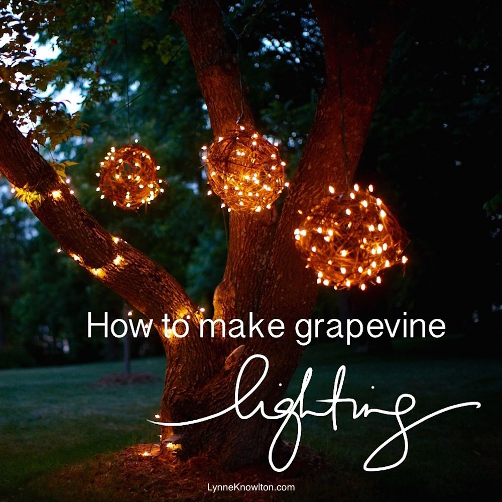 Diy Grapevine Lighting Ballswhat A Bright Idea My Favorite