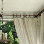 Outdoor Patio Curtain Rods