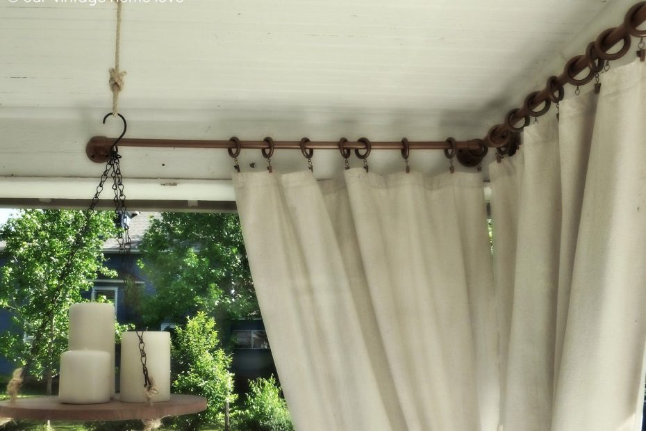 Diy Pipe Curtain Rods Using Pvc Piping Important To Note That If