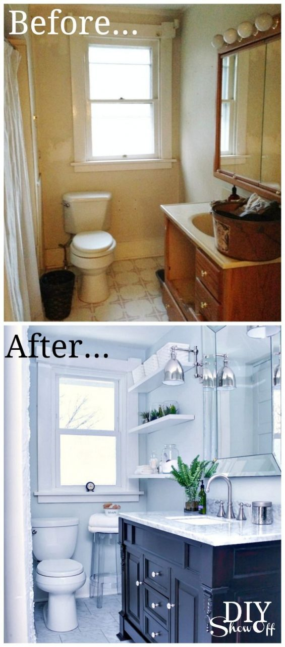 Diy Show Off Where The 3 Is Bathroom Renovation Diy Home