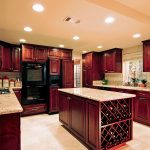 Wood-Cherry-Kitchen-Island