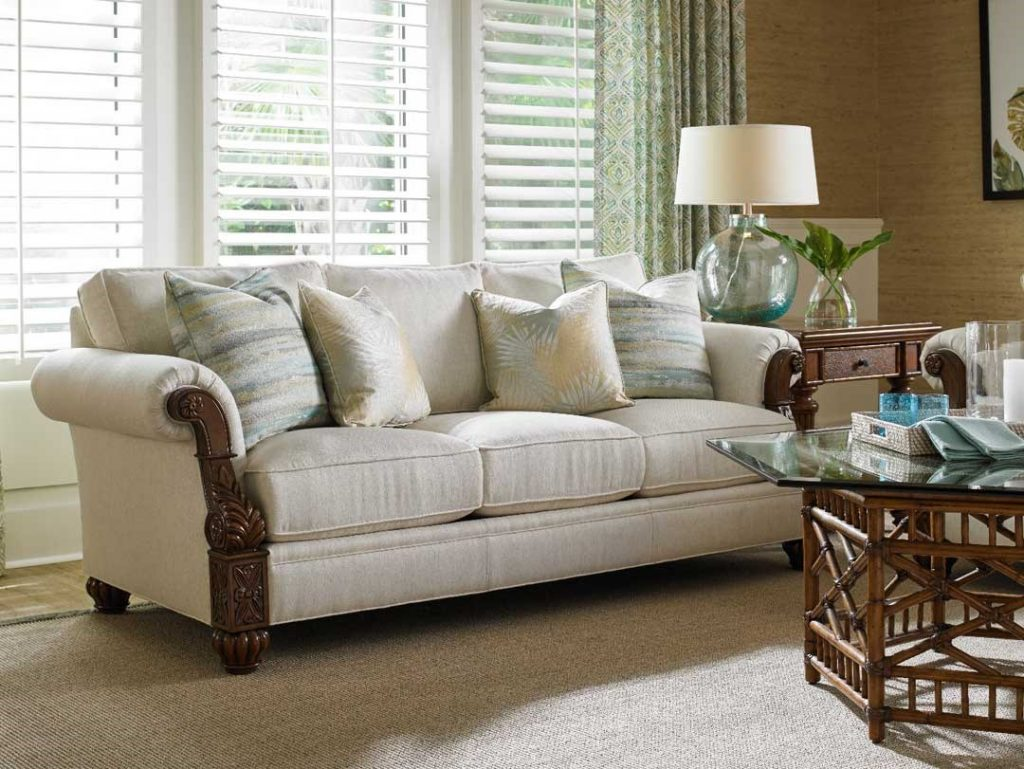 Eclectic Island Style With Upholstery Baers Furniture Ft