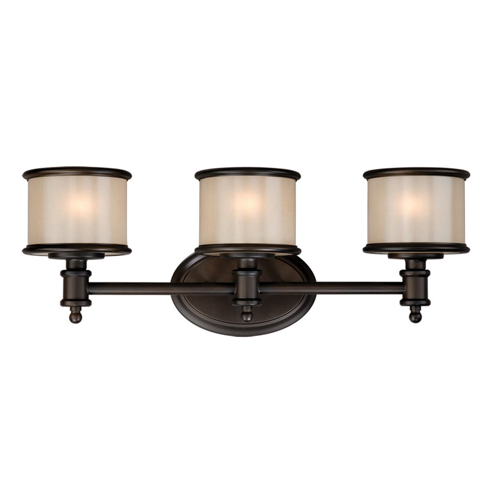 Edmonton 3 Light Vanity Lamp Noble Bronze
