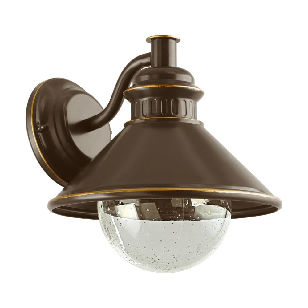 Eglo 96262 Albacete Ip44 Outdoor Wall Light In Brown And Copper