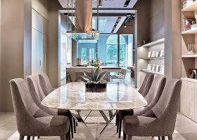 Modern Dining Area Design