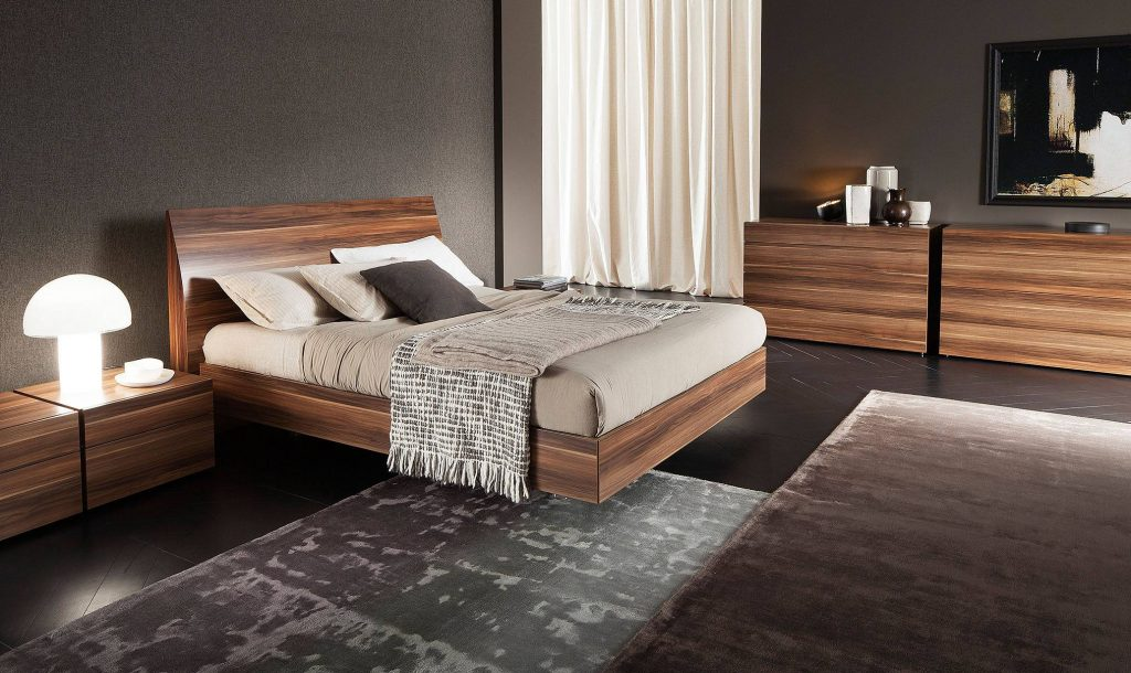 Elegant Wood Luxury Bedroom Furniture Los Angeles California
