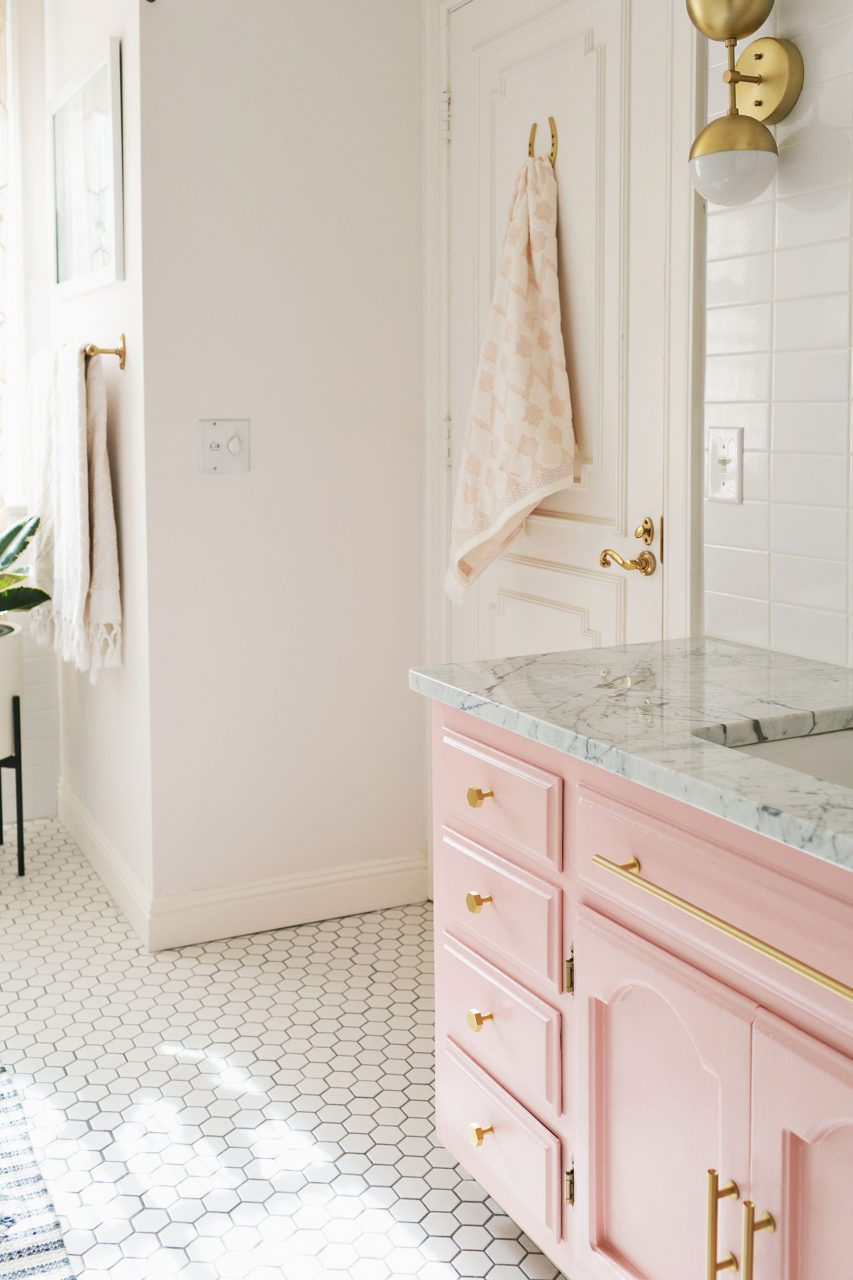Elsies Guest Bathroom Tour Before After Home Inspiration