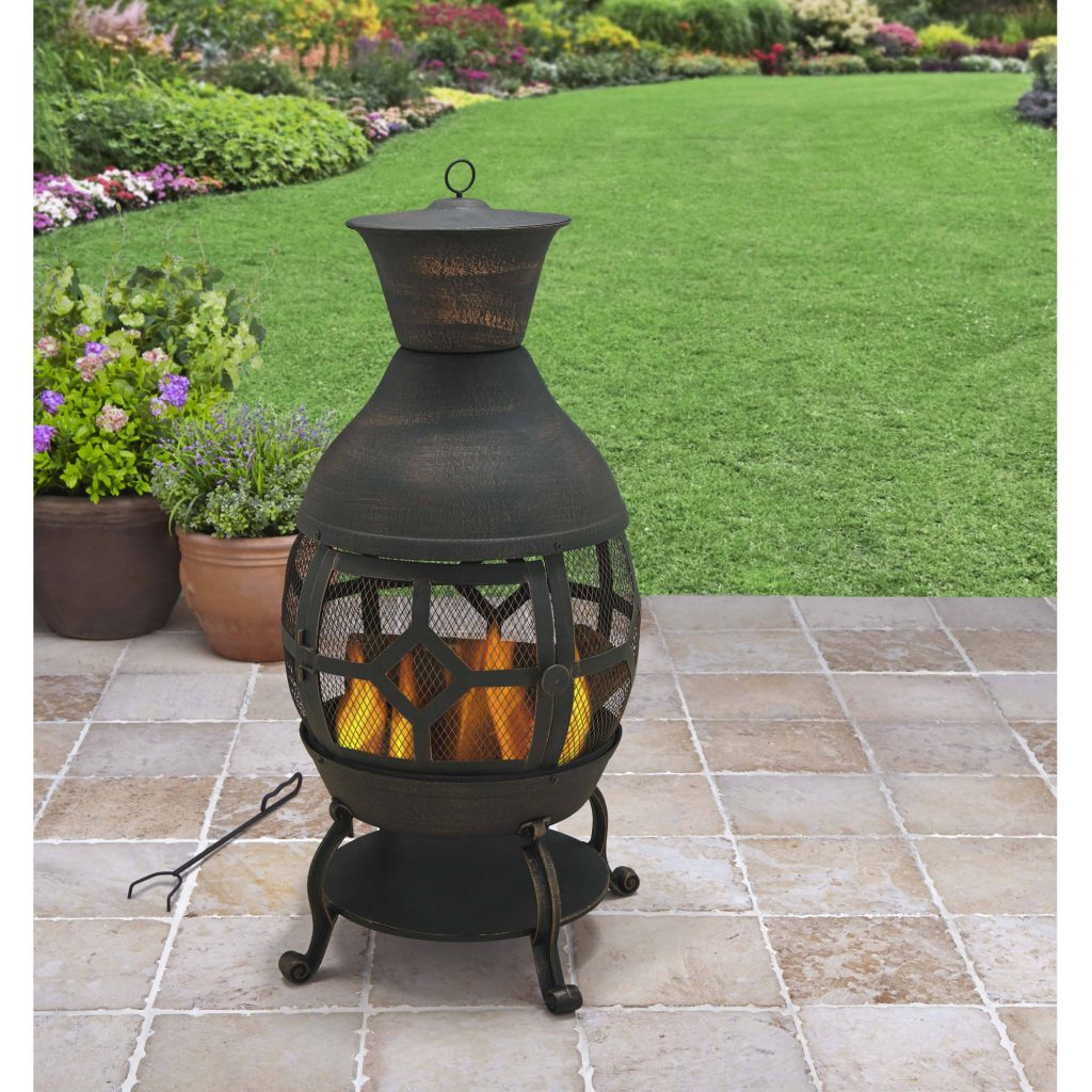 Endless Summer Outdoor Fire Pit Kettle Style Walmart