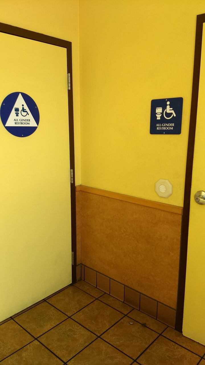 Equality Shown In Taco Bell For Having Both Restrooms Gender Neutral