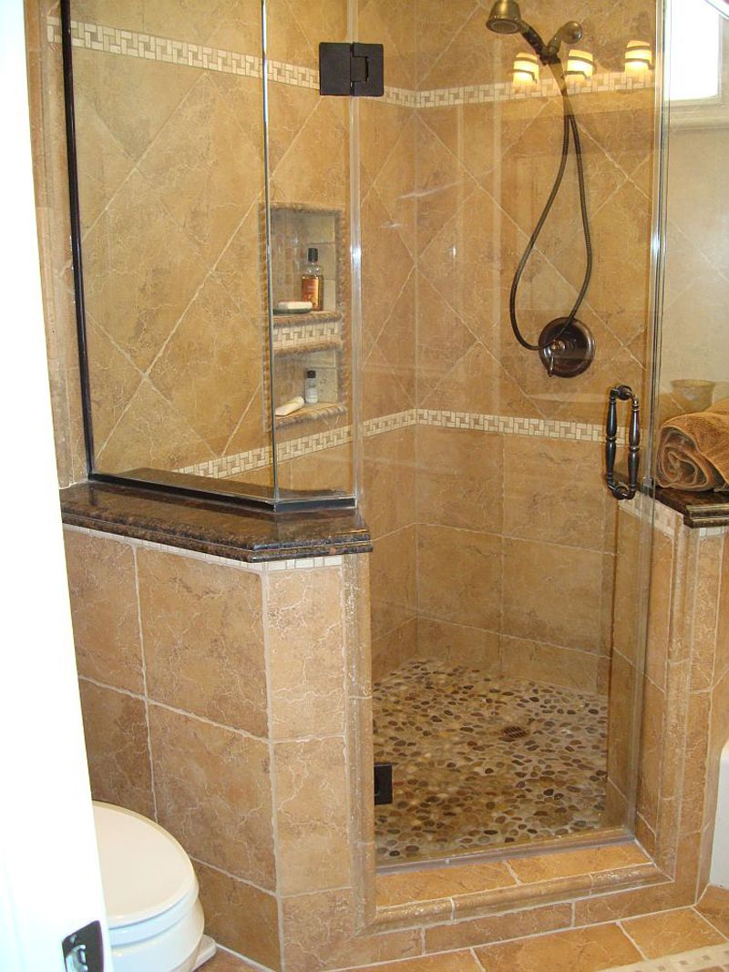 Extraordinary Small Bathroom Ideas With Corner Shower Only Pics