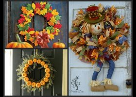 Fall Wreath Decorating Ideas