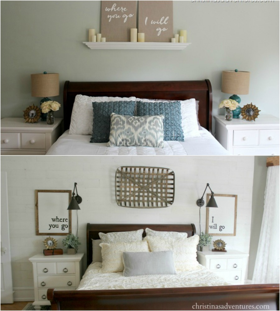 Farmhouse Bedroom Makeover Christinas Adventures