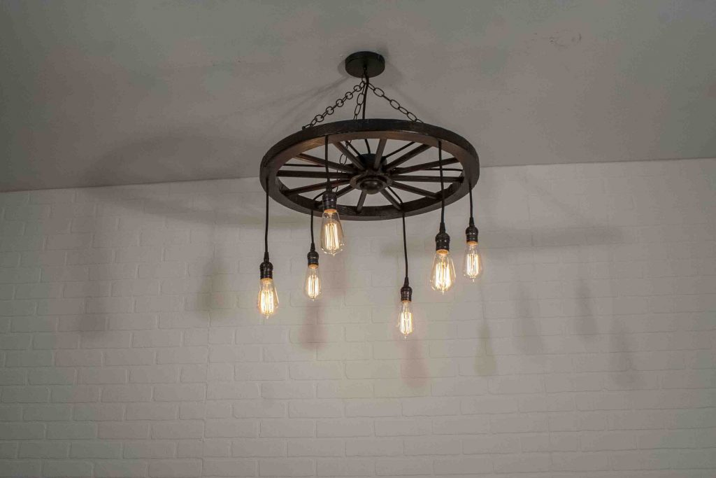 Farmhouse Light Fixture Rustic Kitchen Lighting 6 Pendant Etsy