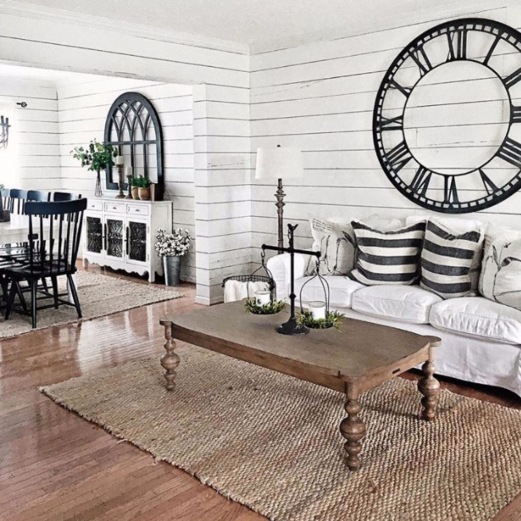 Farmhouse Living Rooms Modern Farmhouse Living Room Decor Ideas