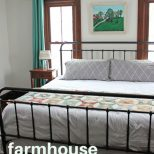 Farmhouse Master Bedroom Renovation Before After Cleverly Simple