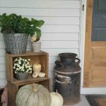 Farmhouse Porch Fall Decor Ideas