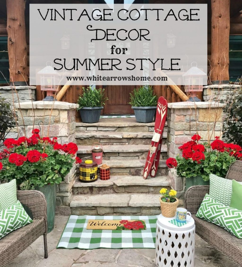 Follow The Yellow Brick Home Vintage Cottage Decor For Summer