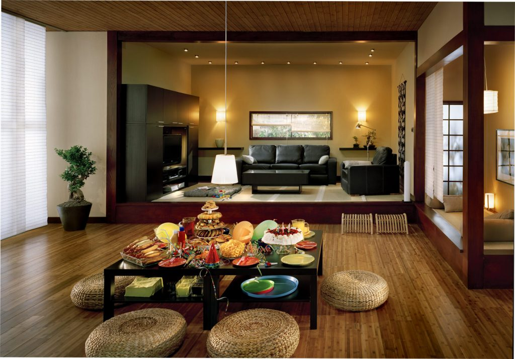 Formal Living Room For Japanese House Chef Decor Sets Japanese