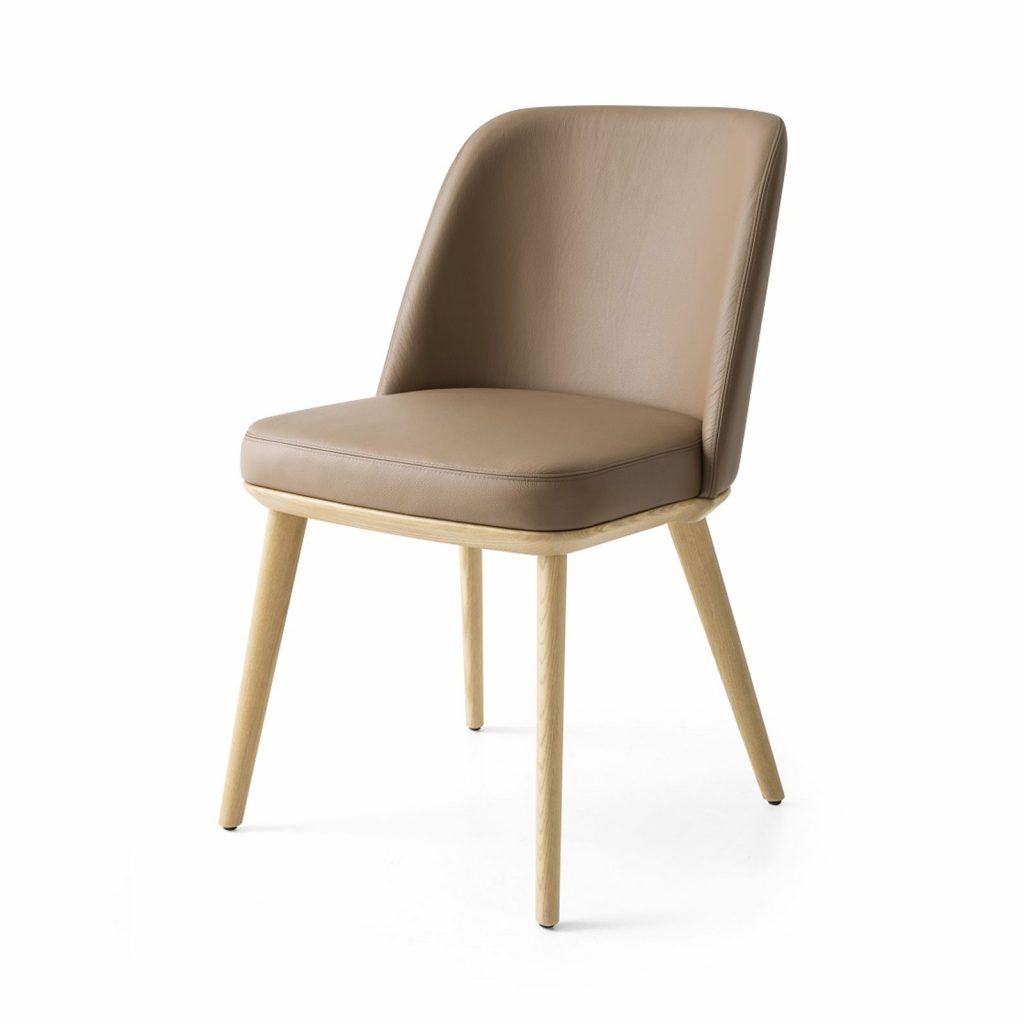 Foyer Leather Dining Chair Calligaris Core Furniture Online