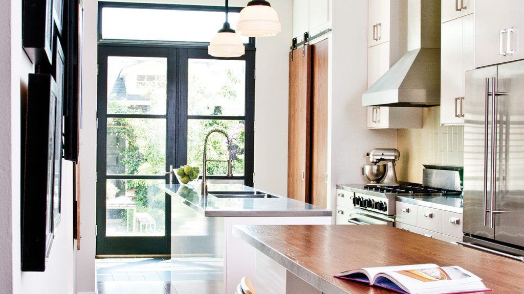 From Cramped Victorian To Open Modern Kitchen Cottage Style