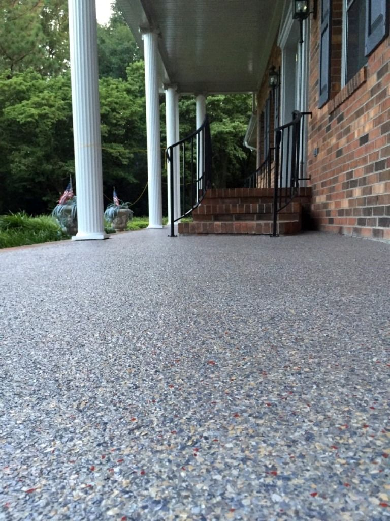 Front Porch Concrete Resurfacing Raleigh North Carolina North