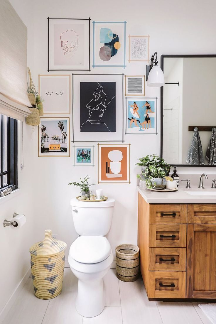 Gallery Wall Art Ideas Decor And Design In 2019 Bathroom