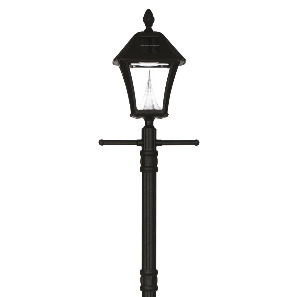 Gama Sonic Baytown Solar Lamp Post With Ez Lamp Post Anchor
