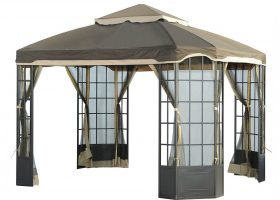 Garden Oasis Bay Window Gazebo Canopy