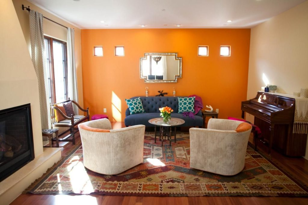 Great Grey And Orange Living Room Ideas Decorating Ideas Burnt