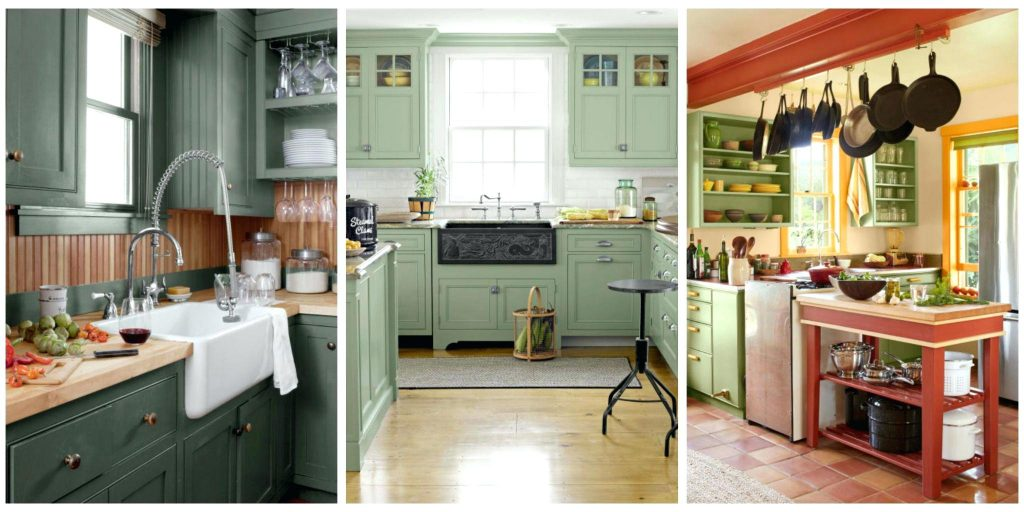 Green Paint Colors For Kitchen With Paint Options Ranging From Mint
