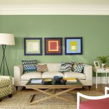 Green Paint Colors For Living Room Alluring Natural Green Color