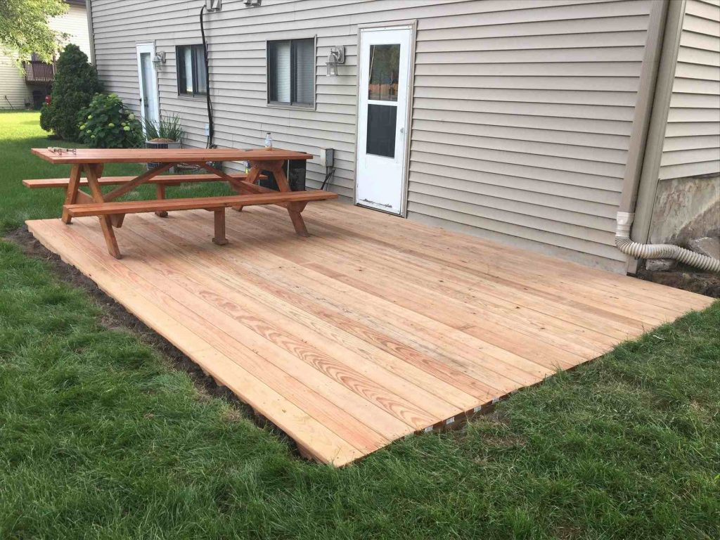 Ground Level Deck Ideas Examples And Forms