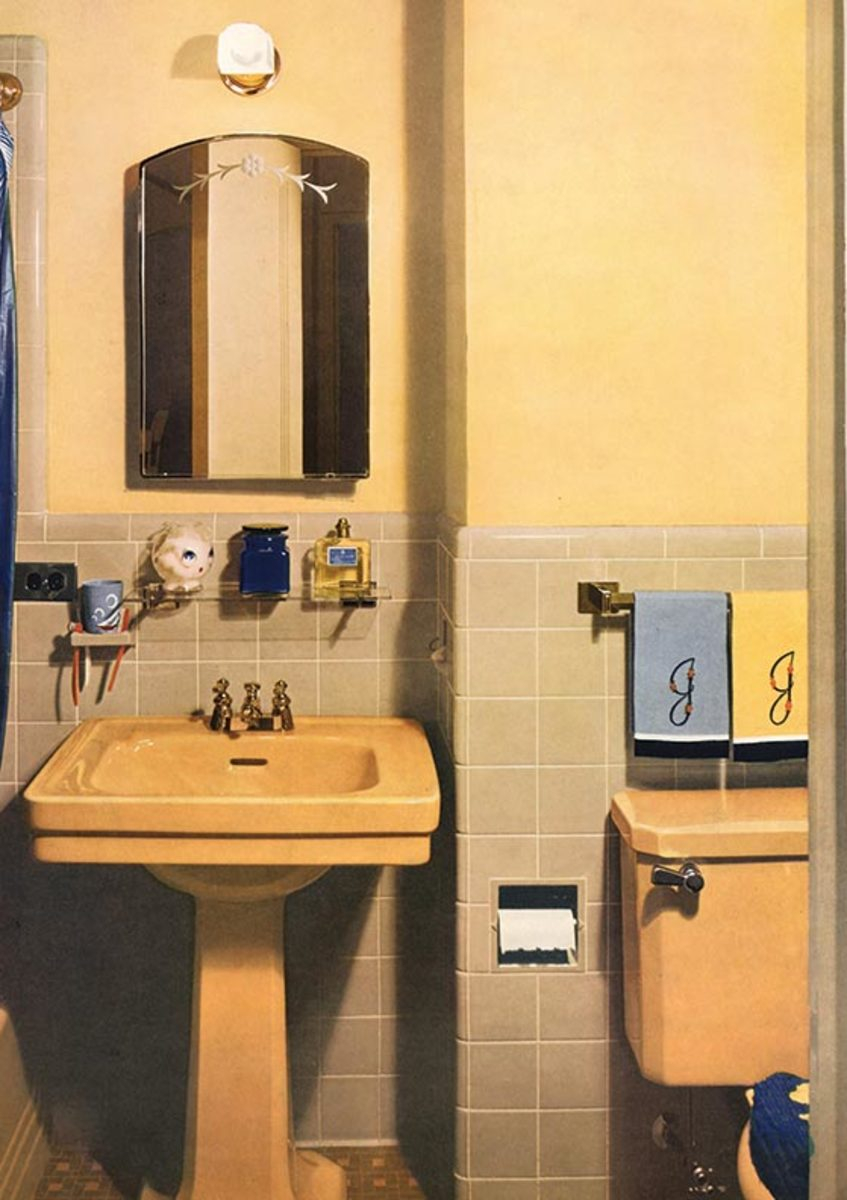 Guide To 20th Century Bathroom Tile Old House Journal Magazine