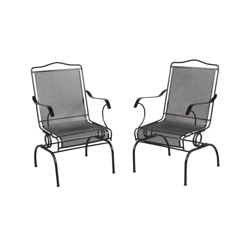 Hampton Bay Jackson Action Patio Chairs 2 Pack 7891700 0205157