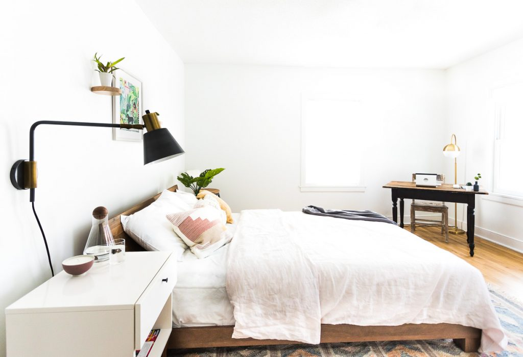 Heartbeet Home A Cozy Minimalist Bedroom Without Clutter