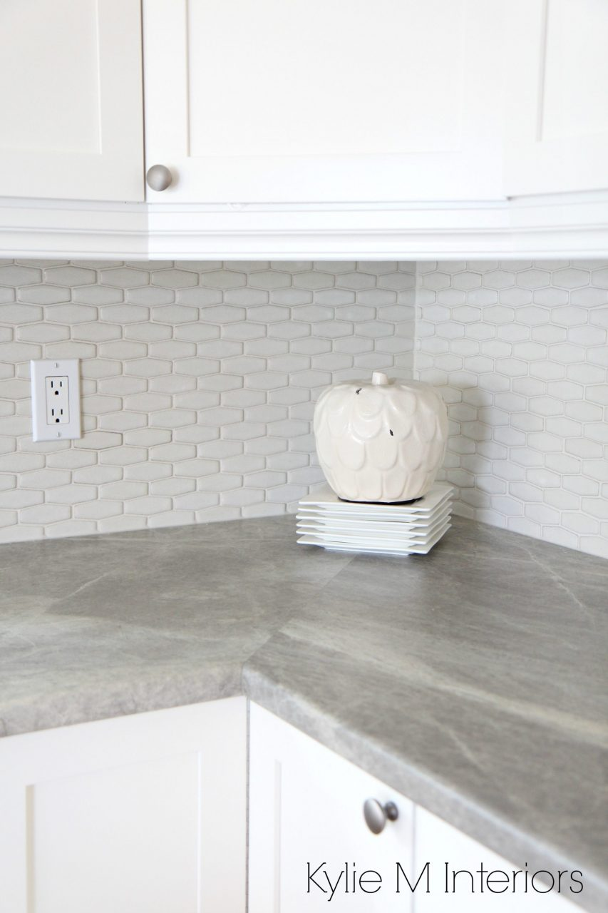 Hexagon Shape Subway Tile Backsplash Soapstone Sequoia Countertops