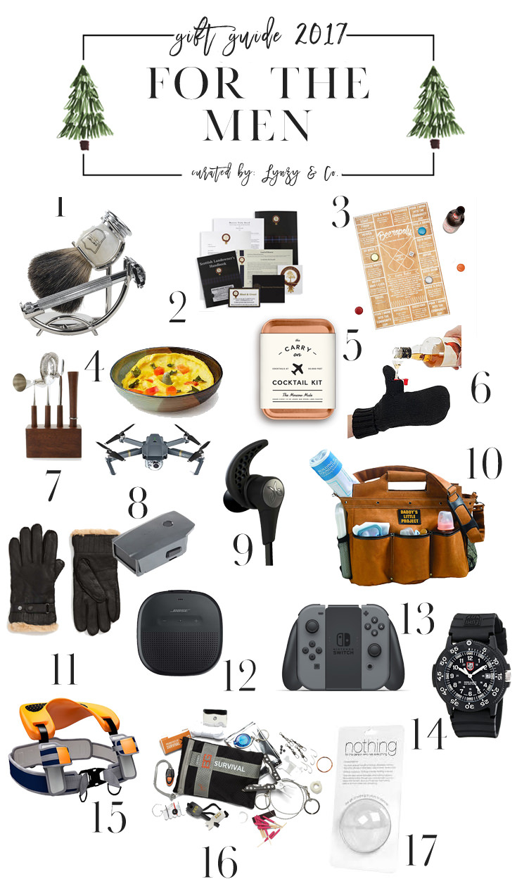 Holiday Gift Guide For Men Lynzy Co