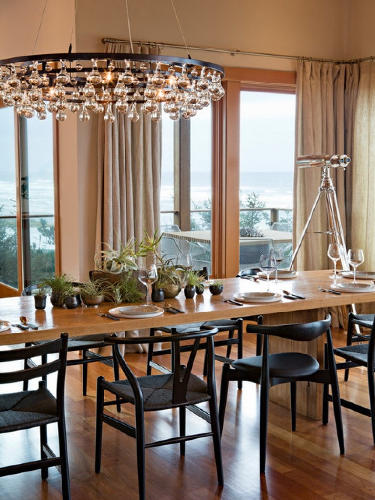 Houzz Chandeliers Modern Contemporary Dining Room Ical