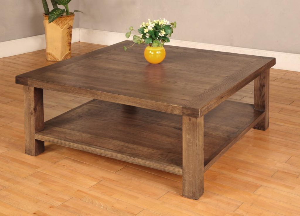 How To Decorate A Large Square Coffee Table Large Square Coffee