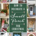 Small Front Porch Christmas Decorating Ideas