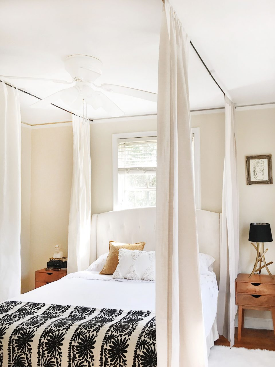 How To Hang A Canopy From The Ceiling Without Drilling Holes
