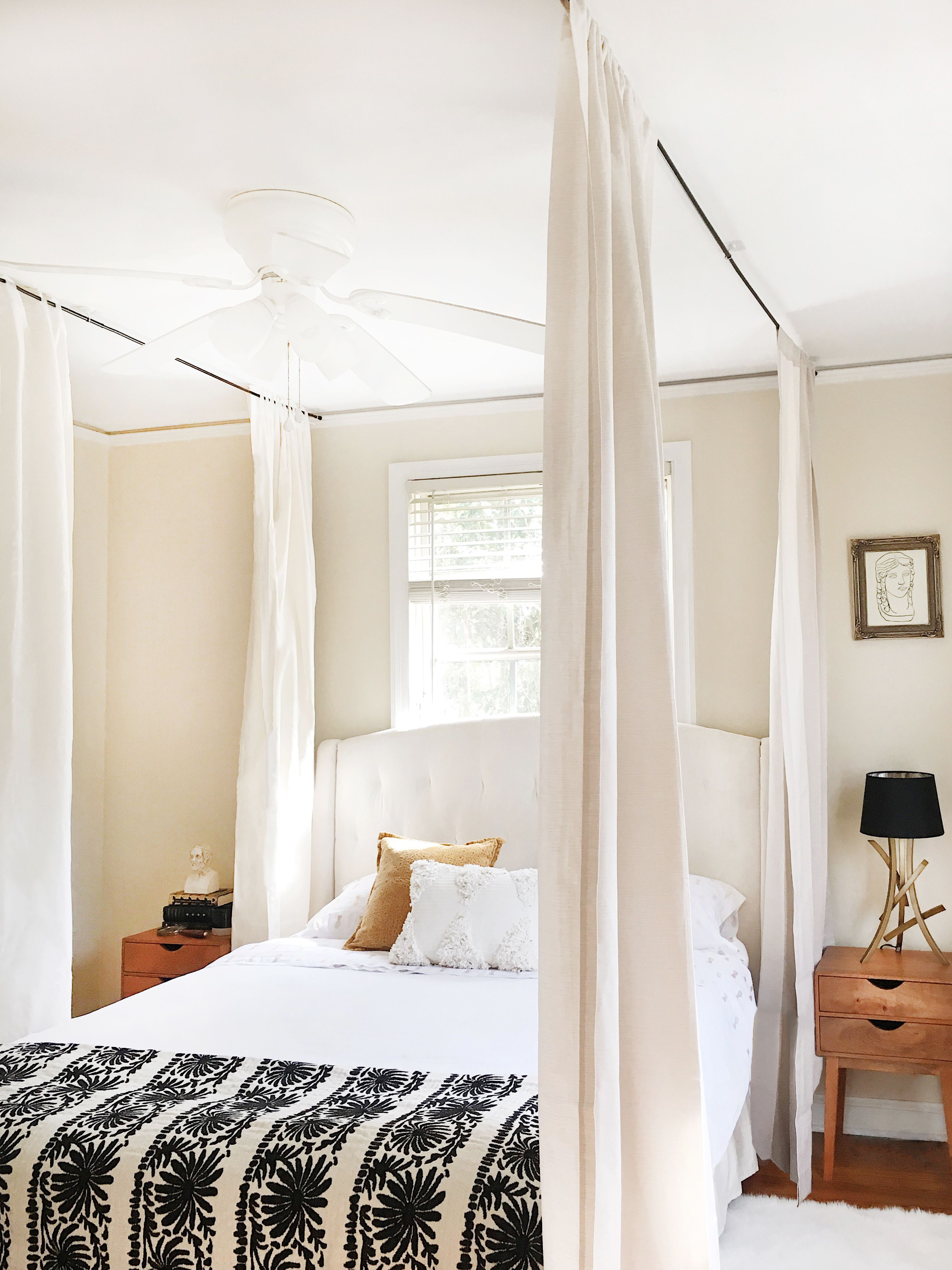 How To Hang A Canopy From The Ceiling Without Drilling Holes Layjao