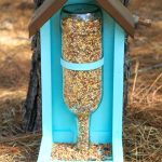 DIY Wine Bottle Bird Feeder Crafts