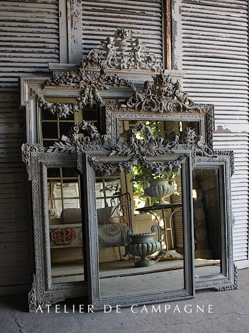 Import Of French Antiques For Home And Garden Mirror Garden