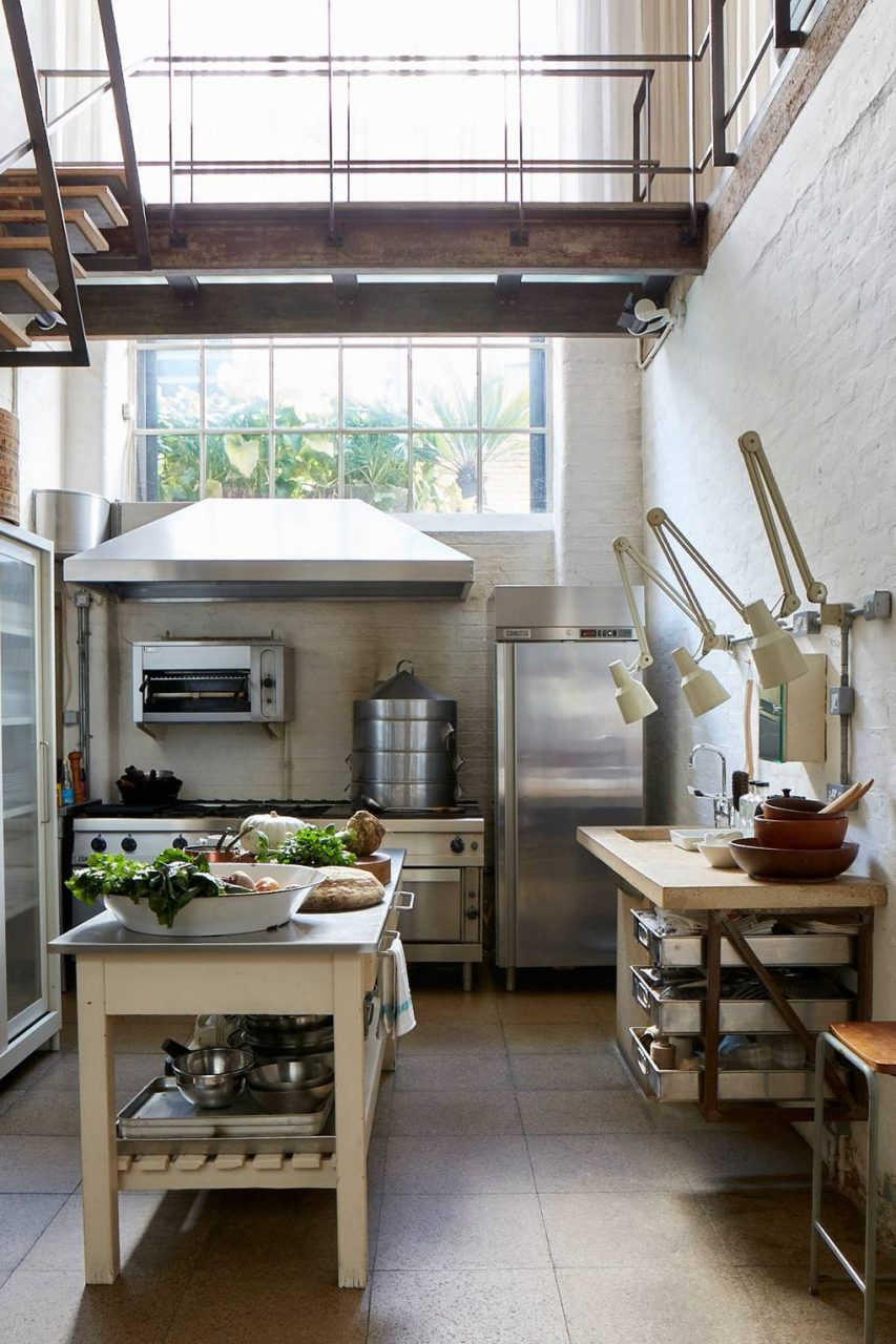 Industrial Kitchen Ideas House Garden