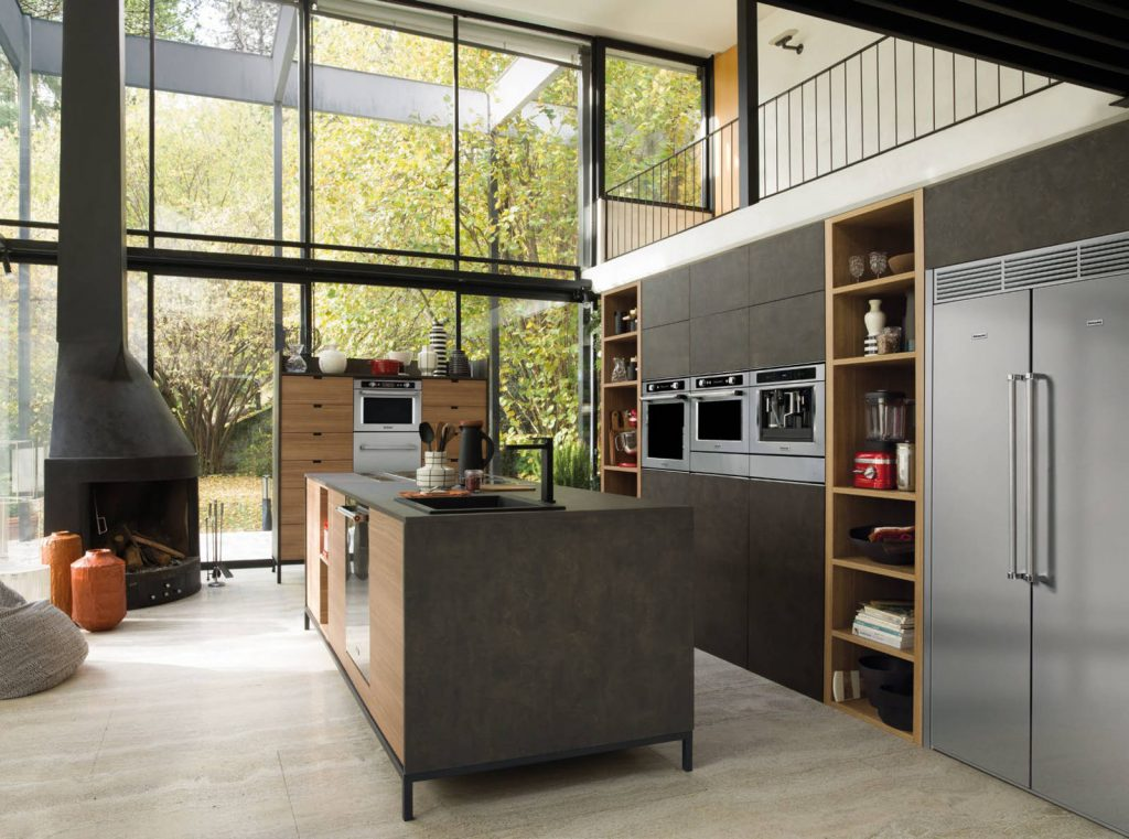 Industrial Style Kitchens Kitchenaid Uk